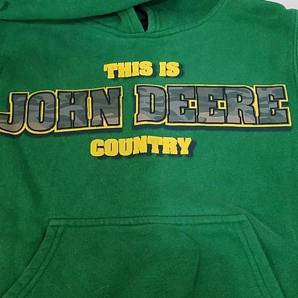 John Deere Other - John Deere Country Green Hoodie Sweater 8 S